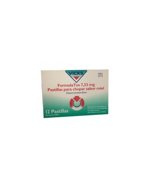 formulatus (7.33 mg 12 pastillas para chupar miel )