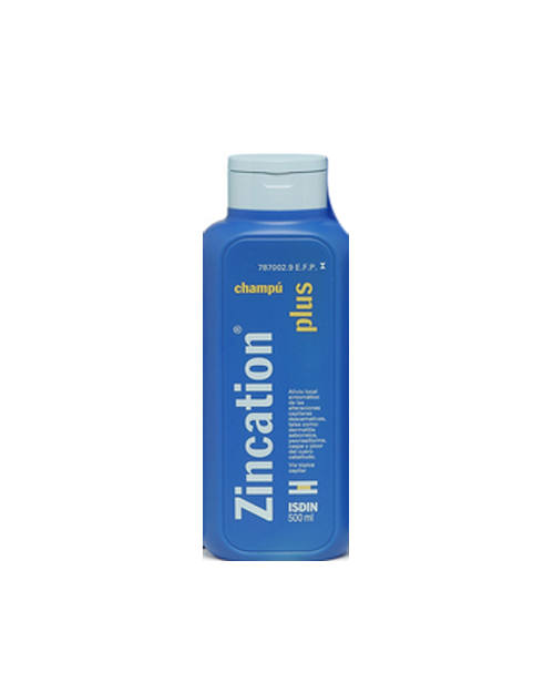 Zincation plus (champu 500 ml )
